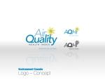 Air Quality Control Index Logo –Concept