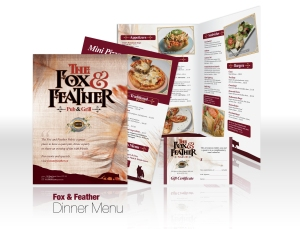02 Fox & Feather – Menu